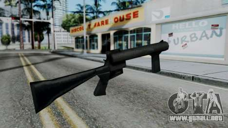 Vice City Beta Grenade Launcher para GTA San Andreas segunda pantalla