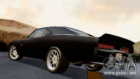 Dodge Charger from FnF4 para GTA San Andreas left