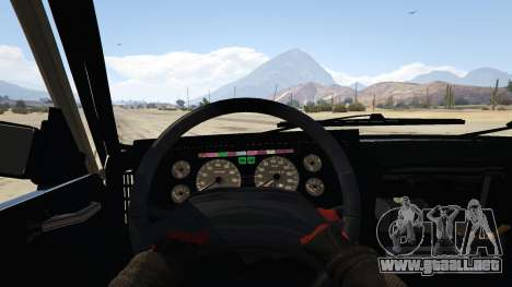 GTA 5 Peykan Vanet vista trasera
