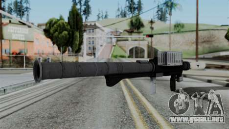 GTA 5 Homing Launcher - Misterix 4 Weapons para GTA San Andreas segunda pantalla