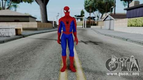 Marvel Heroes - Amazing Spider-Man para GTA San Andreas segunda pantalla