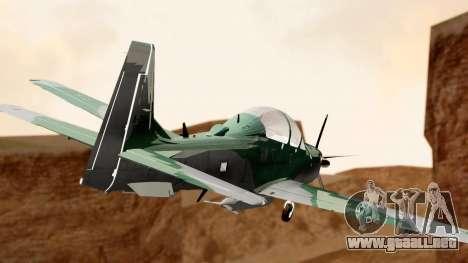 A-29B Embraer Super Tucano para GTA San Andreas left