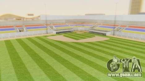 Stadium LV para GTA San Andreas segunda pantalla