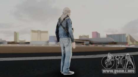 Somalia Militia Desert Camo para GTA San Andreas tercera pantalla