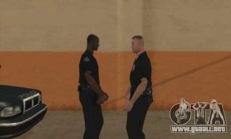 La Policía De C. R. A. S. H para GTA San Andreas segunda pantalla