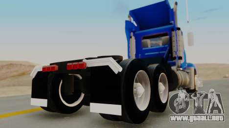 Mack Vision Trailer v3 para GTA San Andreas left