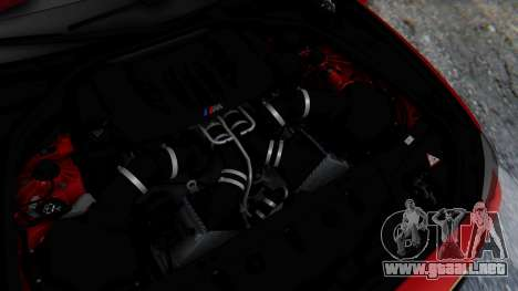 BMW M5 2012 Stance Edition para GTA San Andreas