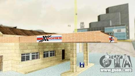 HD Doherty Garage para GTA San Andreas sucesivamente de pantalla