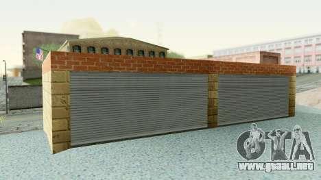 HD Doherty Garage para GTA San Andreas tercera pantalla