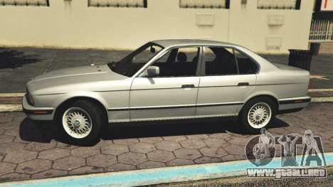 GTA 5 BMW 535i E34 v1.1 vista lateral izquierda