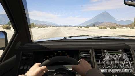 GTA 5 GTA 4 Contender vista trasera