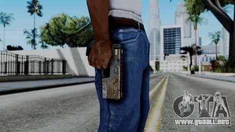 CoD Black Ops 2 - KAP-40 para GTA San Andreas tercera pantalla
