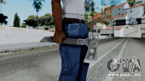 CoD Black Ops 2 - Tomahawk para GTA San Andreas tercera pantalla
