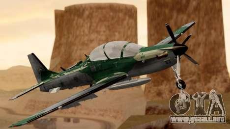 A-29B Embraer Super Tucano para GTA San Andreas
