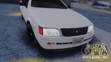 GTA 5 Vulcar Ingot IVF para visión interna GTA San Andreas