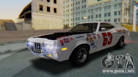 Ford Gran Torino Sport SportsRoof (63R) 1972 IVF para GTA San Andreas interior