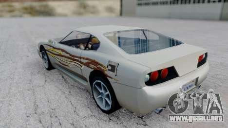 Jester F&F4 RX-7 PJ para GTA San Andreas left