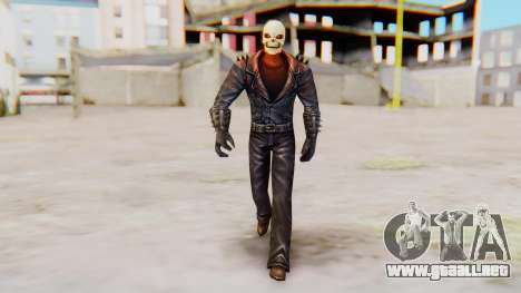 Marvel Future Fight - Ghost Rider para GTA San Andreas segunda pantalla
