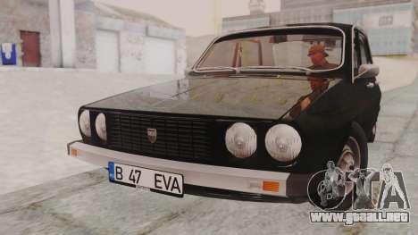 Dacia 1310 1979 para GTA San Andreas vista posterior izquierda
