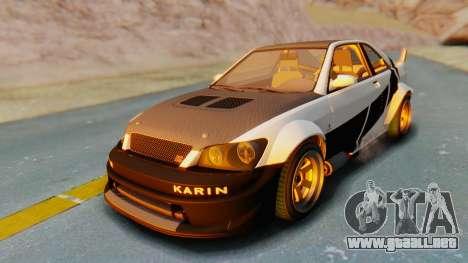GTA 5 Karin Sultan RS Carbon IVF para el motor de GTA San Andreas