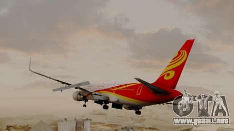 Boeing 767-300ER Hainan Airlines para GTA San Andreas left