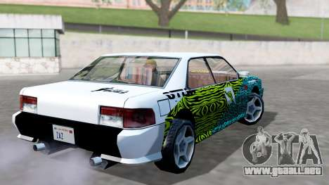 Sultan 4 Drift Drivers V2.0 para GTA San Andreas left