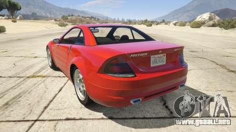 GTA 5 GTA 4 Feltzer vista lateral izquierda trasera