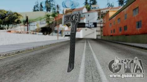 CoD Black Ops 2 - Tomahawk para GTA San Andreas segunda pantalla