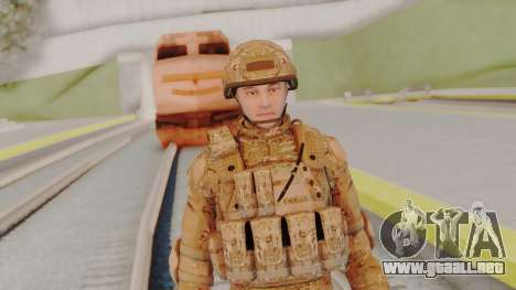 US Army Multicam Soldier from Alpha Protocol para GTA San Andreas