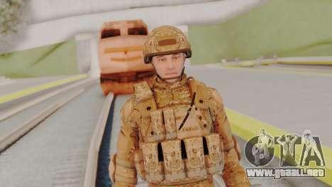 US Army Multicam Soldier from Alpha Protocol para GTA San Andreas
