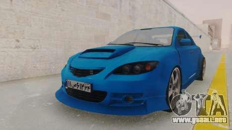 Mazda 3 Full Tuning para la visión correcta GTA San Andreas