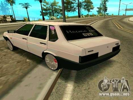 VAZ 21099 Gvr para GTA San Andreas left