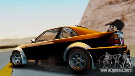 GTA 5 Karin Sultan RS Carbon IVF para GTA San Andreas left