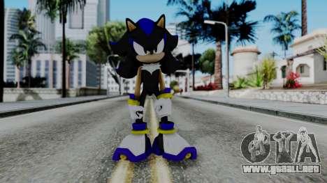 The Hedgehog para GTA San Andreas segunda pantalla