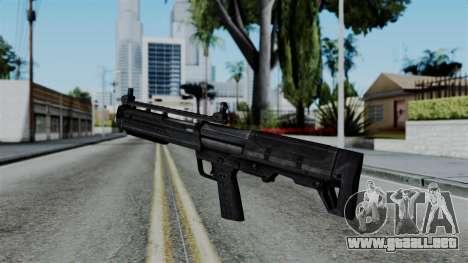CoD Black Ops 2 - KSG para GTA San Andreas segunda pantalla