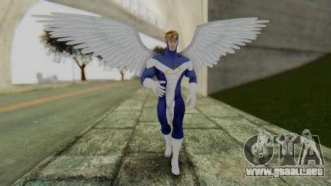 Marvel Heroes - Angel para GTA San Andreas segunda pantalla