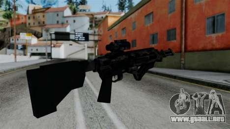 CoD Black Ops 2 - Storm PSR para GTA San Andreas segunda pantalla