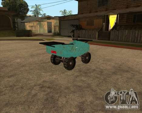 QuadNew v1.0 para la visión correcta GTA San Andreas