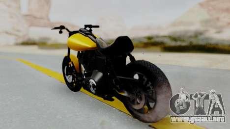 Harley-Davidson Dyna Super Glide T-Sport 1999 para GTA San Andreas left
