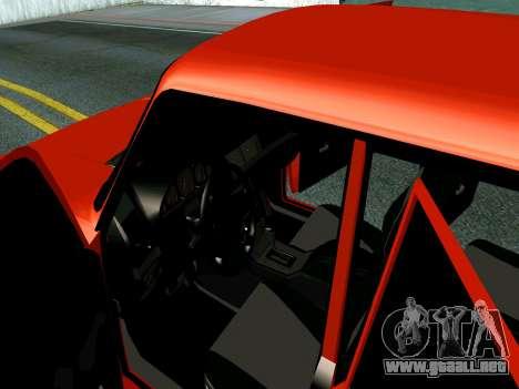 VAZ 2107 Rang Rover Edition para visión interna GTA San Andreas