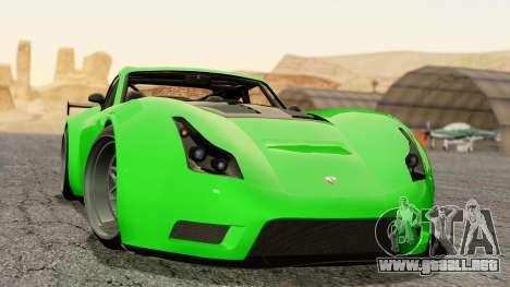 GTA 5 Bravado Verlierer Tuned para GTA San Andreas