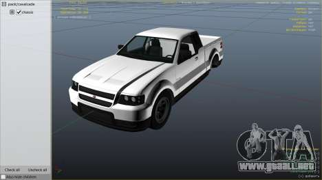 GTA 5 GTA 4 Contender vista lateral derecha