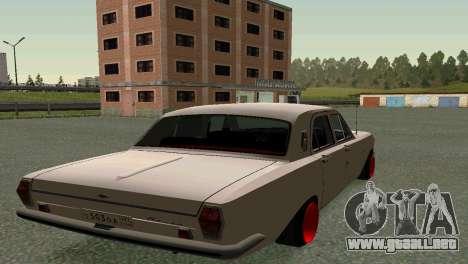 GAS 24 para GTA San Andreas vista posterior izquierda