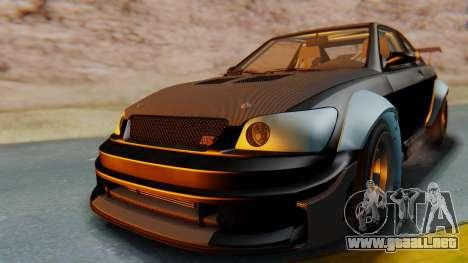 GTA 5 Karin Sultan RS Carbon IVF para la visión correcta GTA San Andreas
