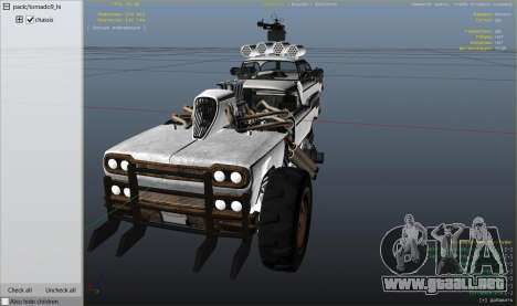 Rueda de GTA 5 Mad Max The Gigahorse