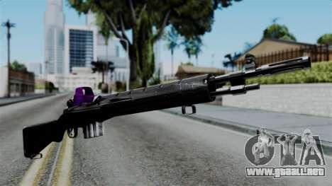 Purple Rifle para GTA San Andreas