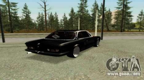 BMW 3.0 CSL JDM Style para la visión correcta GTA San Andreas