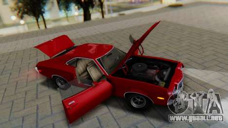 Ford Gran Torino Sport SportsRoof (63R) 1972 PJ1 para GTA San Andreas vista hacia atrás