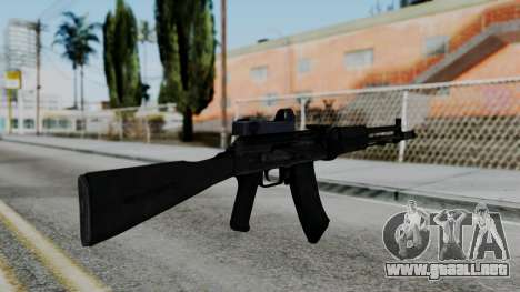 Arma OA AK74-100 para GTA San Andreas segunda pantalla