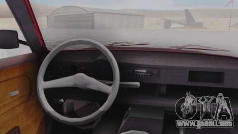 Trabant 601 para la visión correcta GTA San Andreas